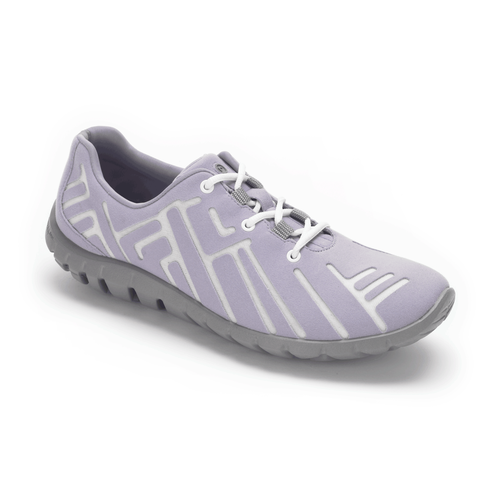truWALKzero Welded Lace Up, Lavender/Frost Gray